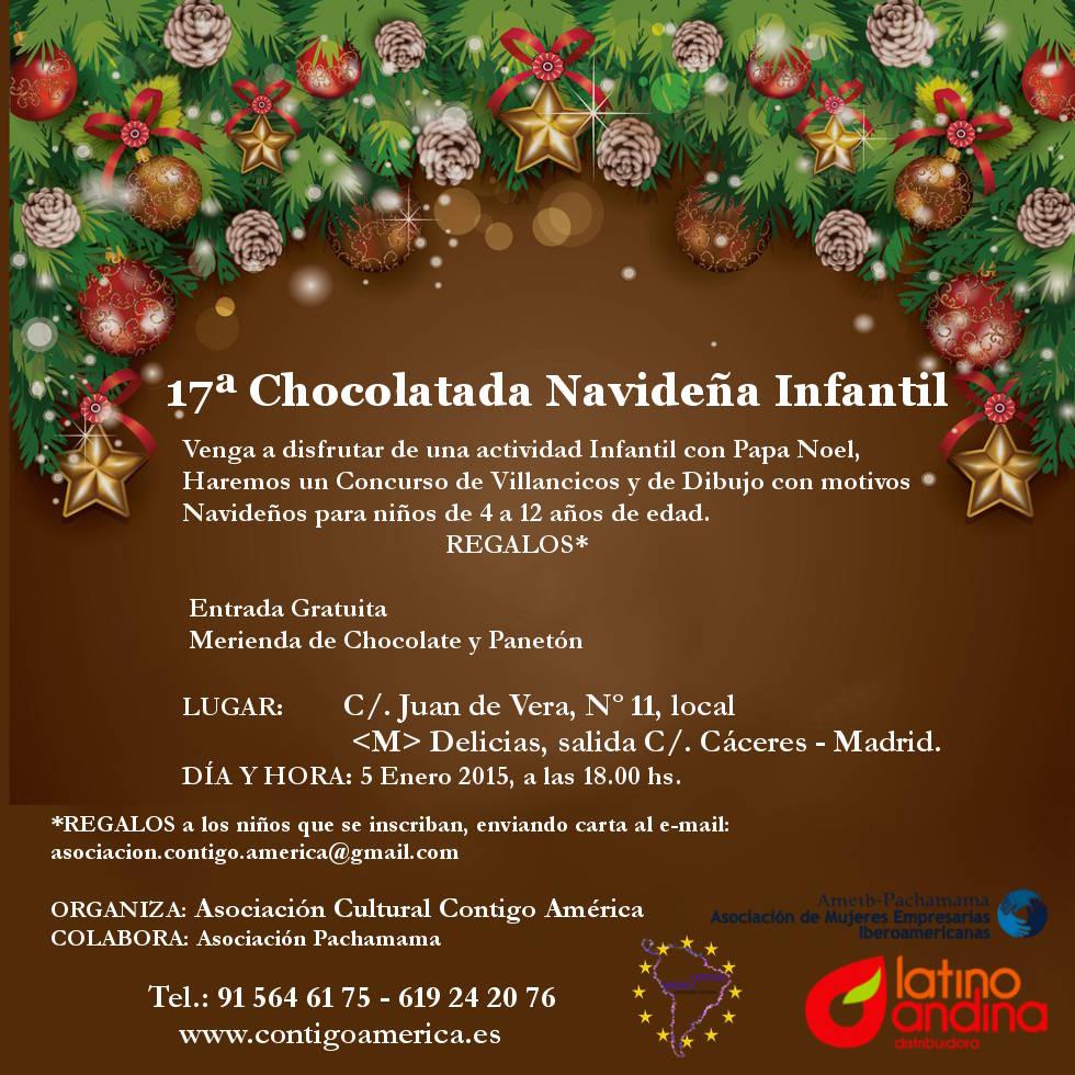 La chocolatada de Navidad, una tradición.