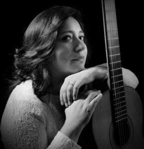 Foto Sonia Hernández a Marzo 2016 - en blanco y negro