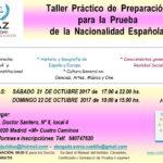 Taller: Preparación para la Prueba de la Nacionalidad Española